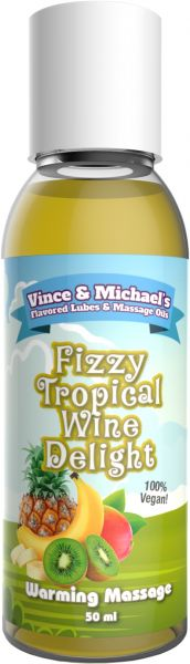 VINCE & MICHAEL's Warming Fizzy Tropical Wine Delight 50ml
