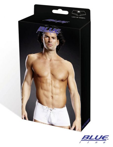 Lace up Trunk microfiber performance white