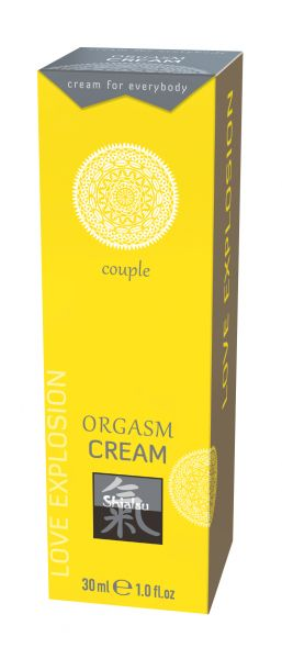SHIATSU Orgasmus Couple cream 30ml