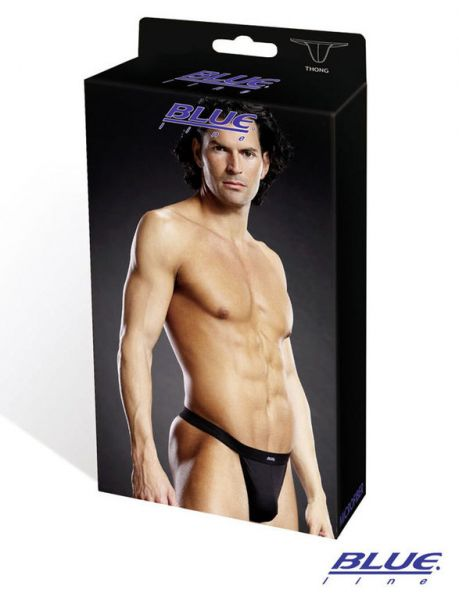 Thong BLK microfiber performance