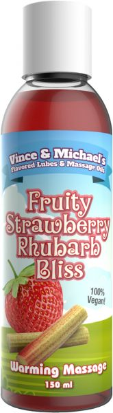 VINCE & MICHAEL's Warming Fruity Strawberry Rhubarb Bliss 150ml