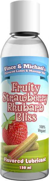 VINCE & MICHAEL's Fruity Strawberry Rhubarb Bliss 150ml