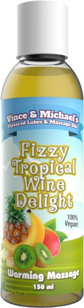 VINCE & MICHAEL's Warming Fizzy Tropical Wine Delight 150ml