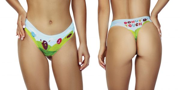 DONUT CARE TOUCH Thong Tanga